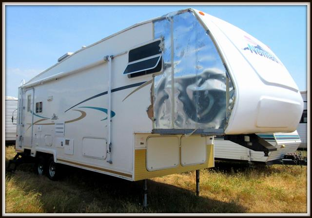Used 2002 Skyline Nomad 27RK Fifth Wheel For Sale