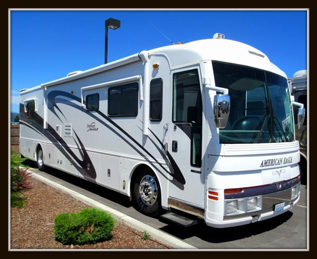 Used 2001 Fleetwood American EAGLE Class A - Diesel For Sale