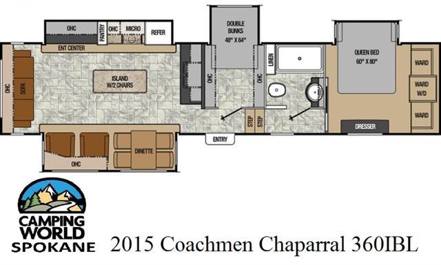 2015 Coachmen Chapparal