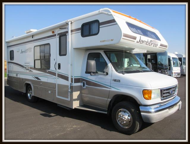 Used 2004 Fleetwood Jamboree 26G Class C For Sale