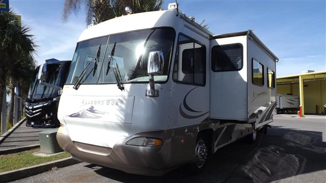 Buy a Used Tiffin Allegro Bus in Dover, FL.