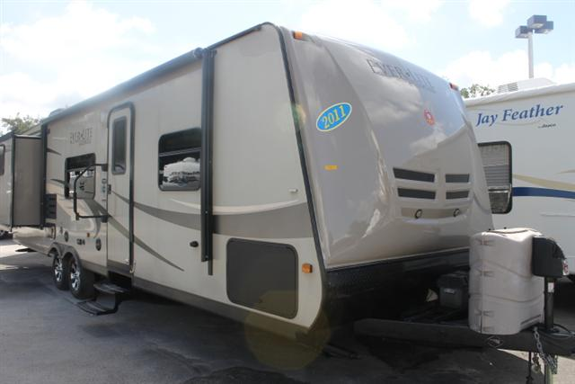 Used 2011 EVERGREEN EVERLITE 31DS Travel Trailer For Sale