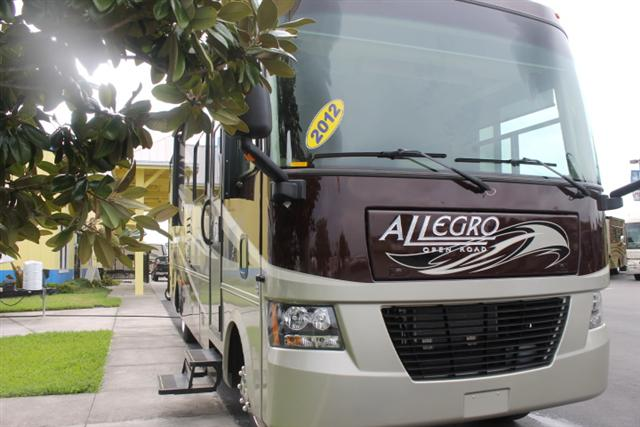 Buy a Used Tiffin Allegro in Dover, FL.