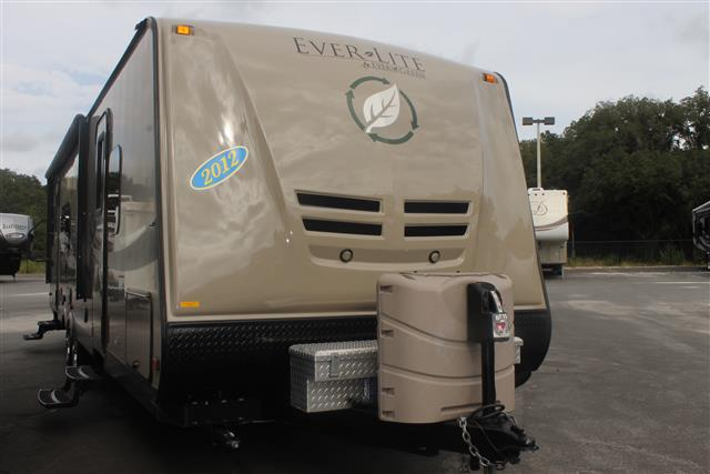 Used 2012 EVERGREEN EVERLITE 31RLS Travel Trailer For Sale