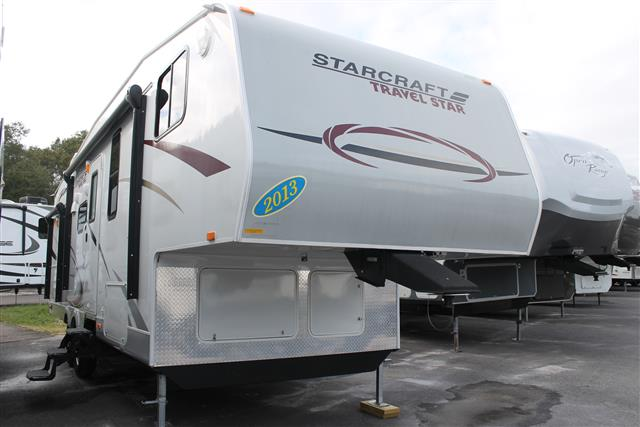 Used 2013 Starcraft Travel Star 278BHS Fifth Wheel For Sale
