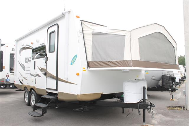 Used 2013 Forest River Rockwood Roo 21SS Hybrid Travel Trailer For Sale