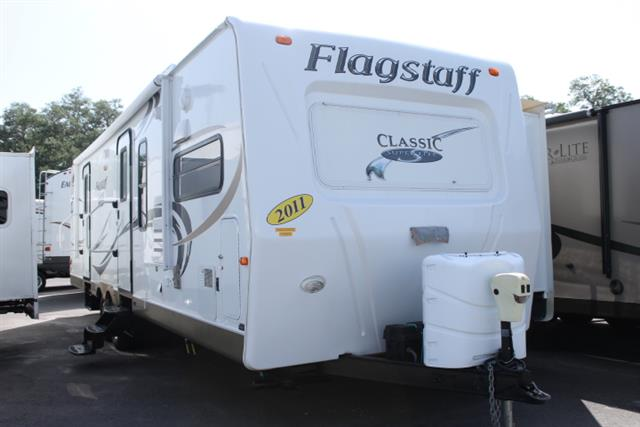 Used 2011 Forest River Flagstaff 831 FKBSS Travel Trailer For Sale