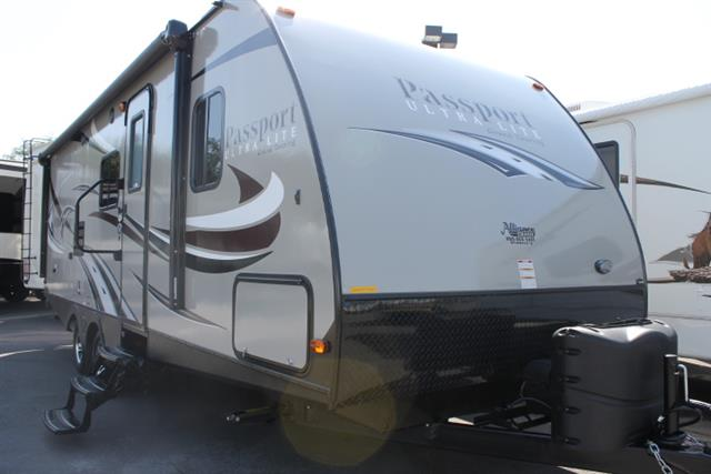 Used 2015 Keystone Passport 2510RB Travel Trailer For Sale