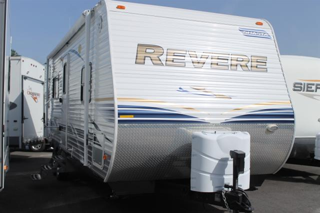 Used 2012 Shasta Revere 25RKSS Travel Trailer For Sale