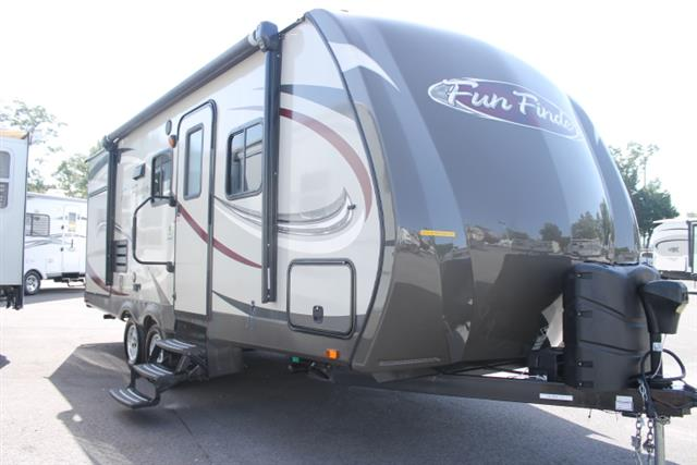 Used 2013 Shadow Cruiser Fun Finder M-215 WSK Travel Trailer For Sale