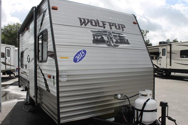 Used 2015 Forest River WOLF PUP 16BH Travel Trailer For Sale