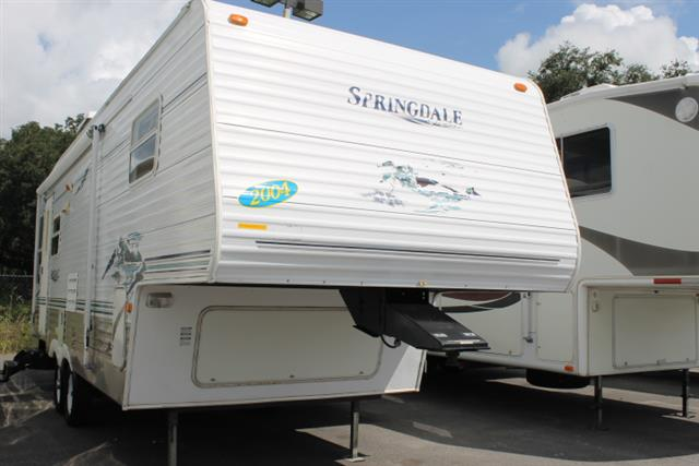Used 2005 Keystone Springdale 279RLLGL Fifth Wheel For Sale