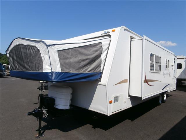 used2006 jayco jay feather hybrid travel trailer for sale. Black Bedroom Furniture Sets. Home Design Ideas