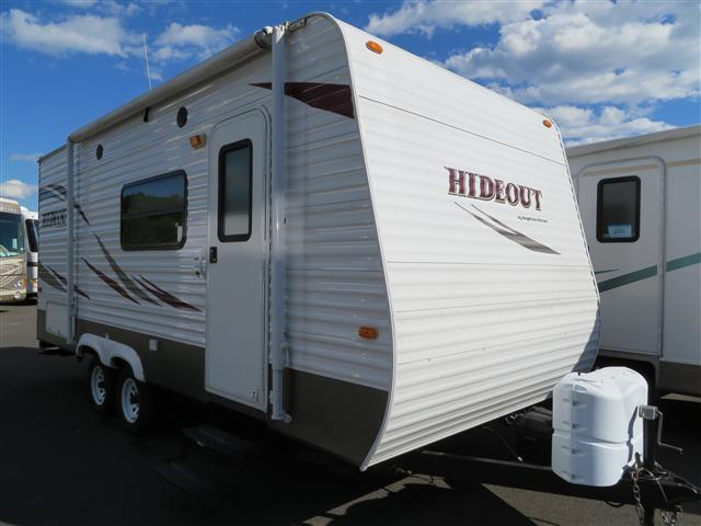 Used 2010 Keystone Hideout 19FLB Travel Trailer For Sale