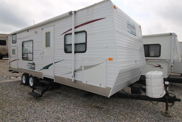 Used 2008 Sunnybrook Edgewater 270BHE Travel Trailer For Sale