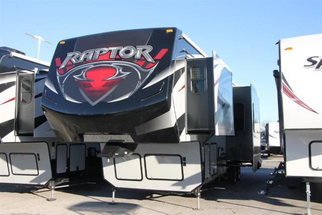 New 2015 Keystone Raptor 300MP Fifth Wheel Toyhauler For Sale