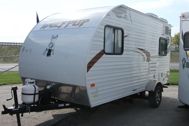 Used 2012 Forest River WOLF PUP 17B Hybrid Travel Trailer For Sale
