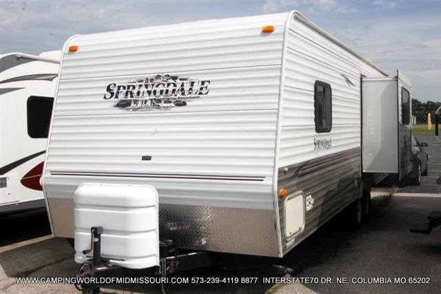 Used 2008 Keystone Springdale 257RKLS Travel Trailer For Sale