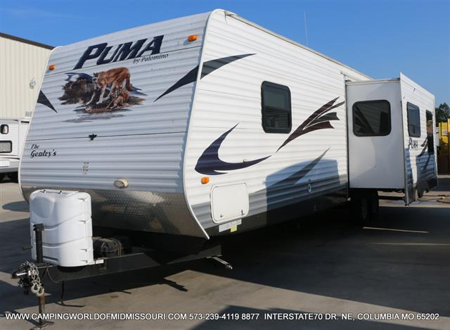 Used 2010 Palomino Puma 29RKSS Travel Trailer For Sale