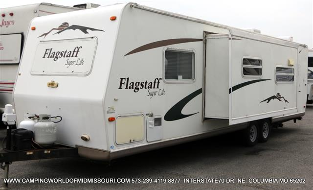 Used 2007 Forest River Flagstaff 27BHSS Travel Trailer For Sale