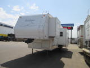 Used 2006 Forest River Sand Piper 37F Fifth Wheel Toyhauler For Sale