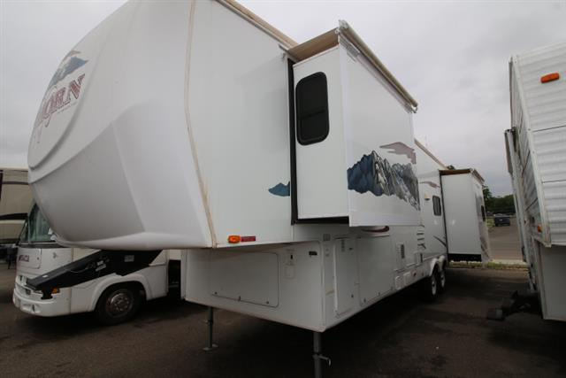 Used 2007 Heartland Big Horn 3400RL Fifth Wheel For Sale