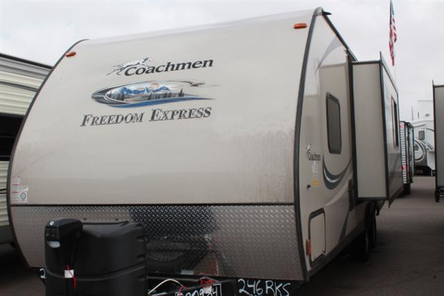 Used 2015 Coachmen Freedom Express 246RKS Travel Trailer For Sale