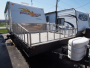 Used 2007 Cherokee Wolf Pack 18DFWP Travel Trailer Toyhauler For Sale