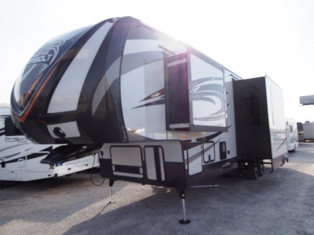 New 2016 Forest River XLR THUNDERBOLT 300X12HP Fifth Wheel Toyhauler For Sale