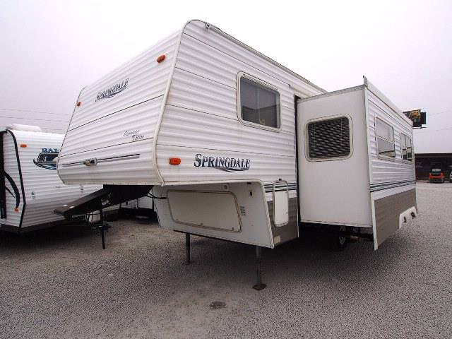 Used 2003 Keystone Springdale 24BH Fifth Wheel For Sale
