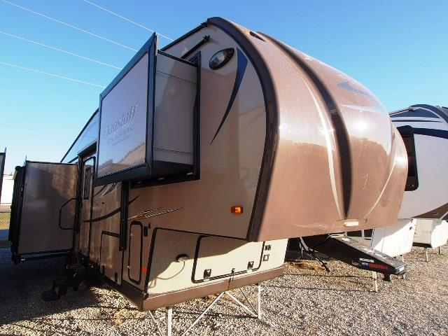 Used 2015 Forest River Flagstaff 8528 IKWS Fifth Wheel For Sale