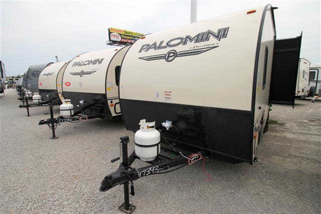 New 2016 Forest River PALOMINI 179BHS Travel Trailer For Sale
