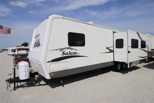 Used 2007 Forest River Salem La 282RLSS Travel Trailer For Sale