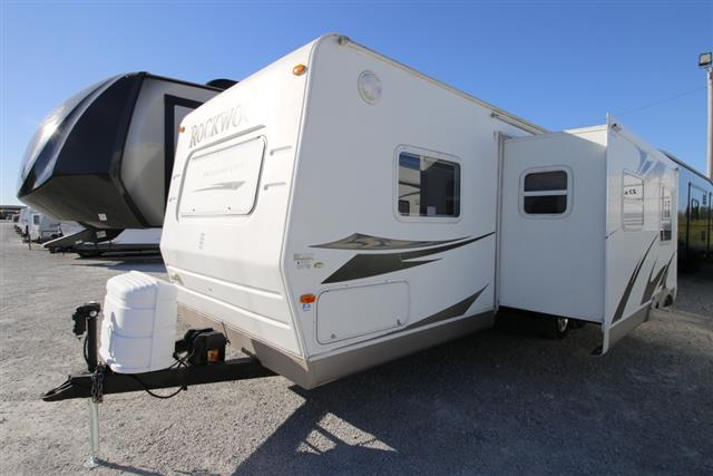 Used 2008 Forest River Rockwood 8293SS Travel Trailer For Sale