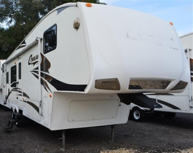 Used 2008 Keystone Cougar CG292RKSO Fifth Wheel For Sale