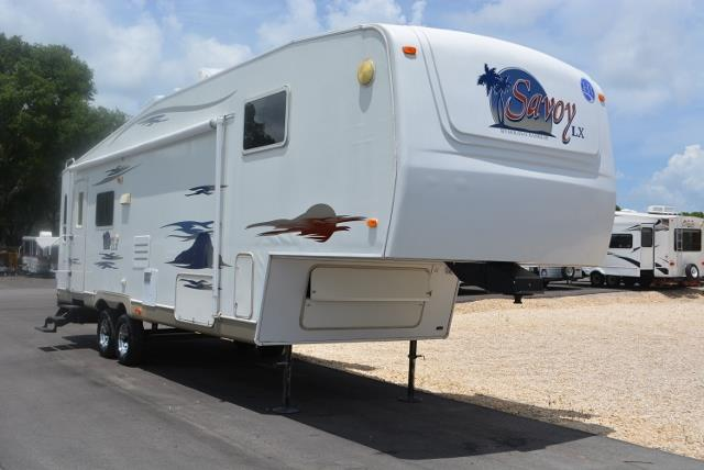 Used 2006 Holiday Rambler Savoy Sl SAVOY Fifth Wheel For Sale