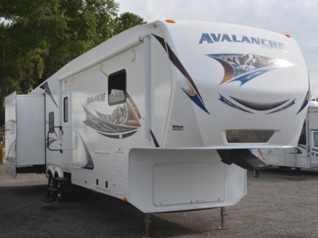 Used 2012 Keystone Avalanche 345 TG Fifth Wheel For Sale