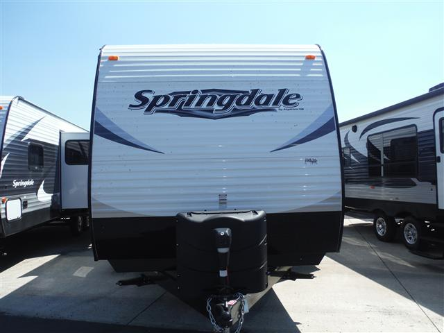 New 2015 Keystone Springdale 287RB Travel Trailer For Sale
