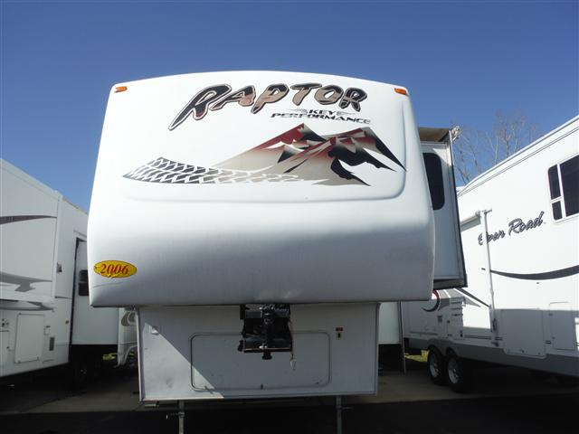 Buy a Used Keystone Raptor in Cedar Falls, IA.