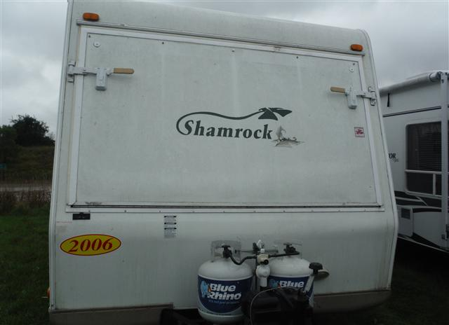 Used 2006 Flagstaff Shamrock 232 Travel Trailer For Sale