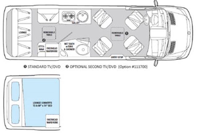 2012 MERCEDES Airstream