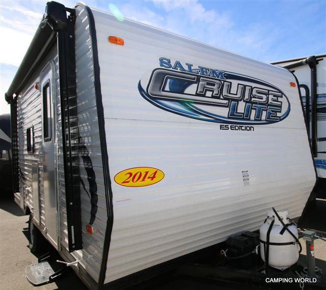 Used 2014 Forest River SALEM CRUISE LITE 195 BH Travel Trailer For Sale