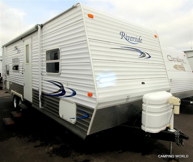 Used 2005 Adventure Mfg Riverside 27BH Travel Trailer For Sale