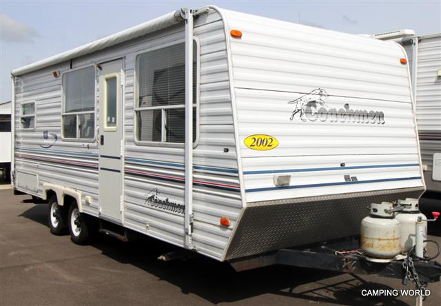Used 2002 Coachmen Spirit Of America 24FK LTD ED Travel Trailer For Sale