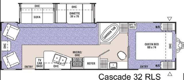 2002 Coachmen Cascade
