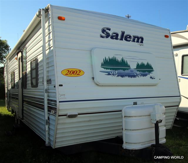 Used 2002 Forest River Salem BH Travel Trailer For Sale