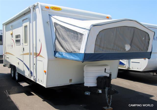 Used 2005 Jayco Jayfeather J21 Travel Trailer For Sale