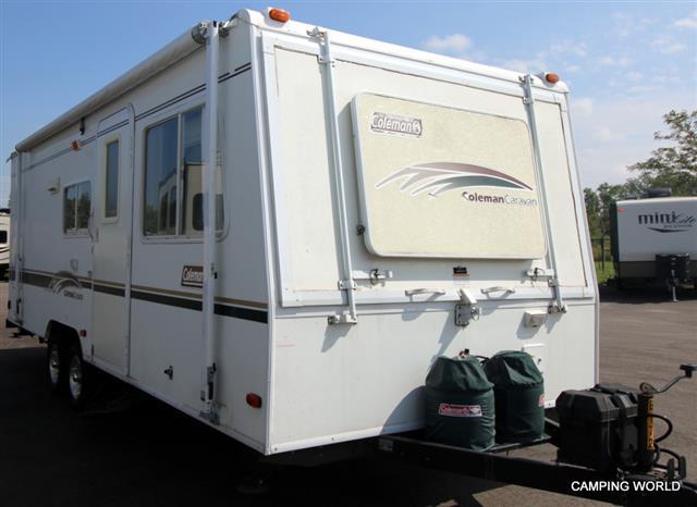 Used 2002 Coleman Caravan 25SL Travel Trailer For Sale