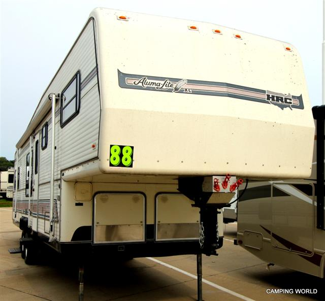Used 1988 Holiday Ramber Alumalite ALUMA LITE Fifth Wheel For Sale
