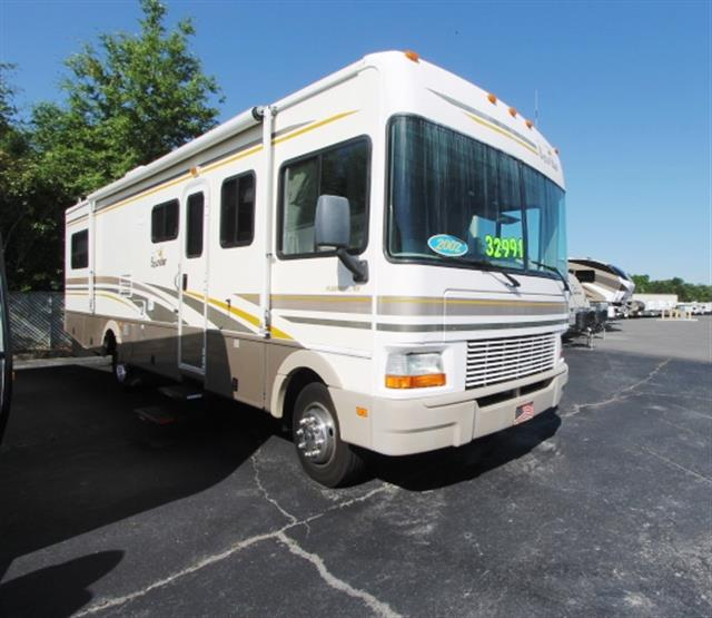 Used 2002 Fleetwood Bounder 32H Class A - Gas For Sale